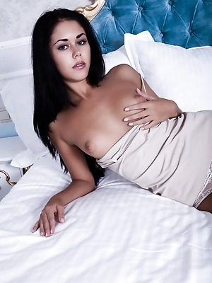 SexArt  Macy B  Pussy, Brunettes, Boobs, Breasts, Tits, Petite, Erotic, Softcore, Panty, Seduce